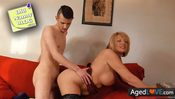 Agedlove busty blonde fucking bussinesman hard 3